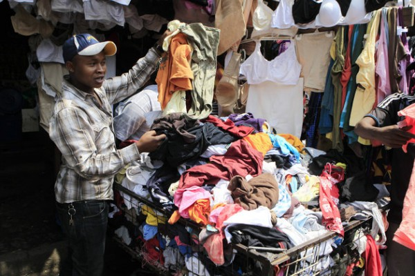 These African Countries Don't Want Your Used Clothing Anymore