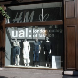 H&M x LCF at London Fashion Week